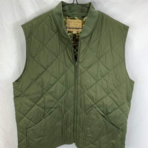 Polo by Ralph Lauren Other - Men's True Religion Green Quilted Vest XXL